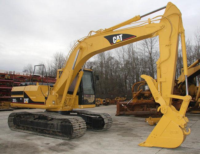 315L Excavator